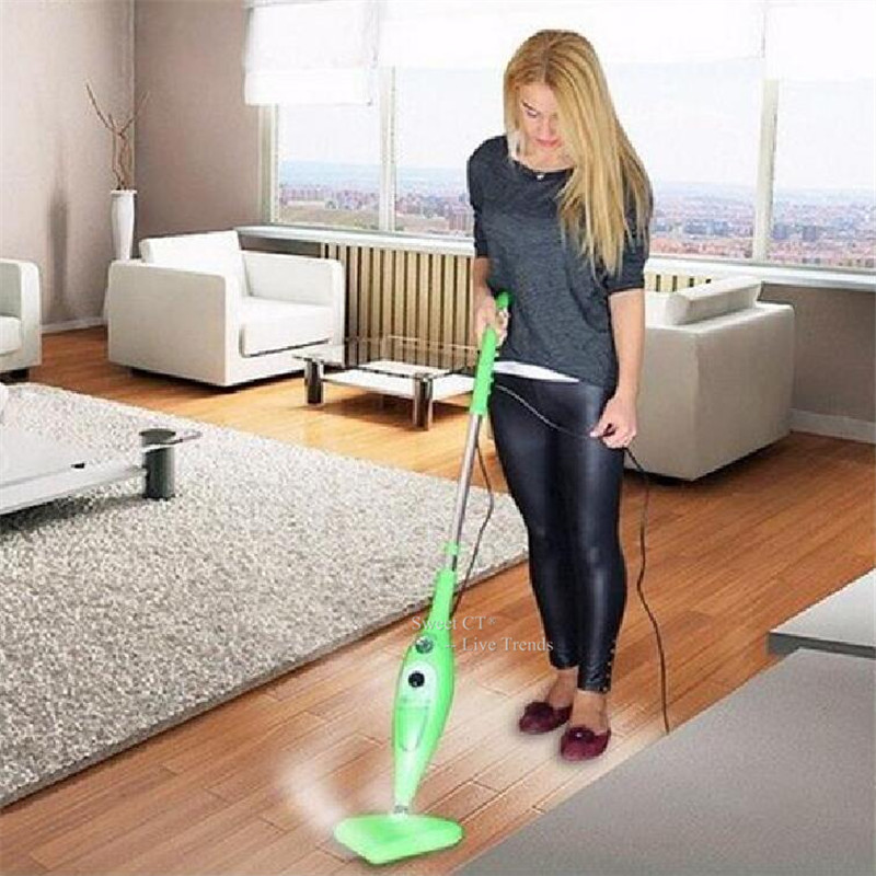 Sweeten Home 12in1 Multifunctional Steam Mop Hand-Held Garment Steamer Duster Cleaning Machine(China (Mainland))