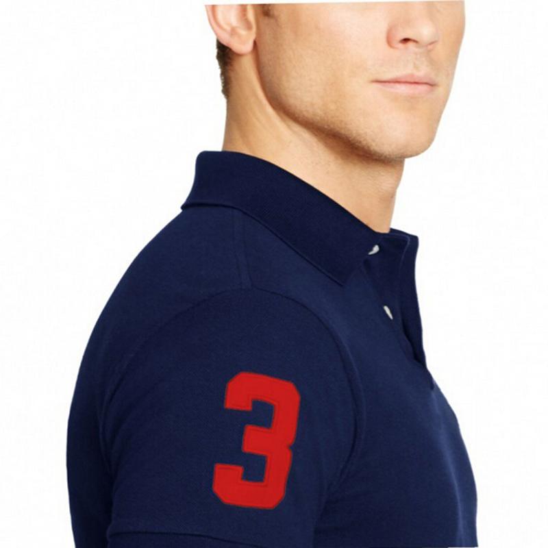 Summer Big Horse Embroidery Polos Shirt Styles Men And Women Polos Shirt Business Sports Fashion Korean Clothing Casual Shirts(China (Mainland))