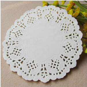 """30000 Pcs 3.5"""" White Round Lace Paper Doilies / Doyleys,Vintage Coasters / Placemat Craft Wedding Christmas Table Decoration(China (Mainland))"""