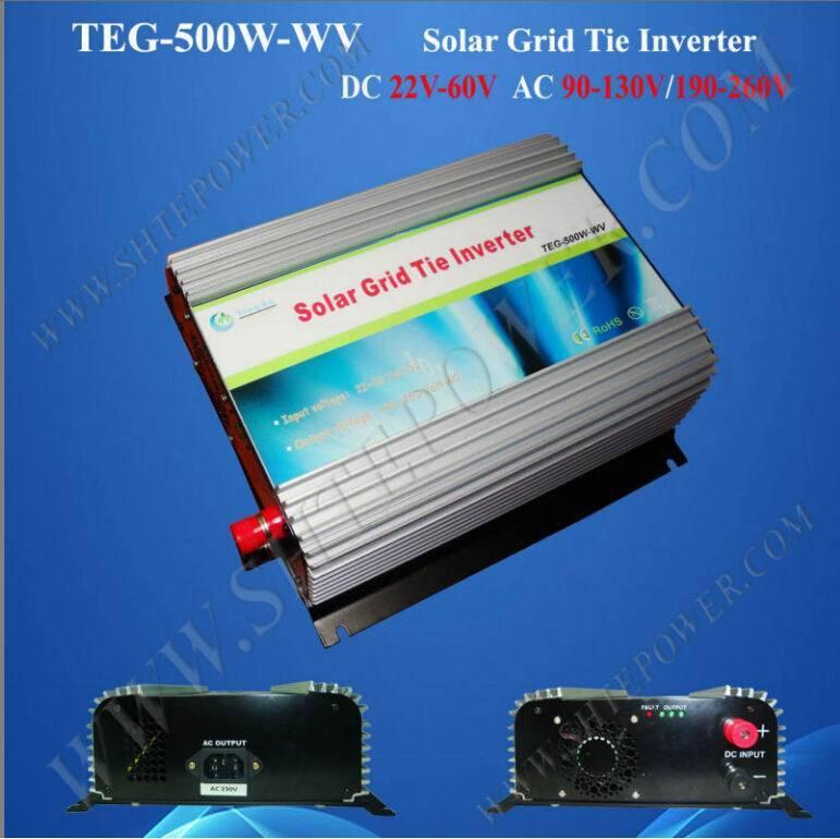 ac power supply 24v 230v 500w grid tie inverter(China (Mainland))