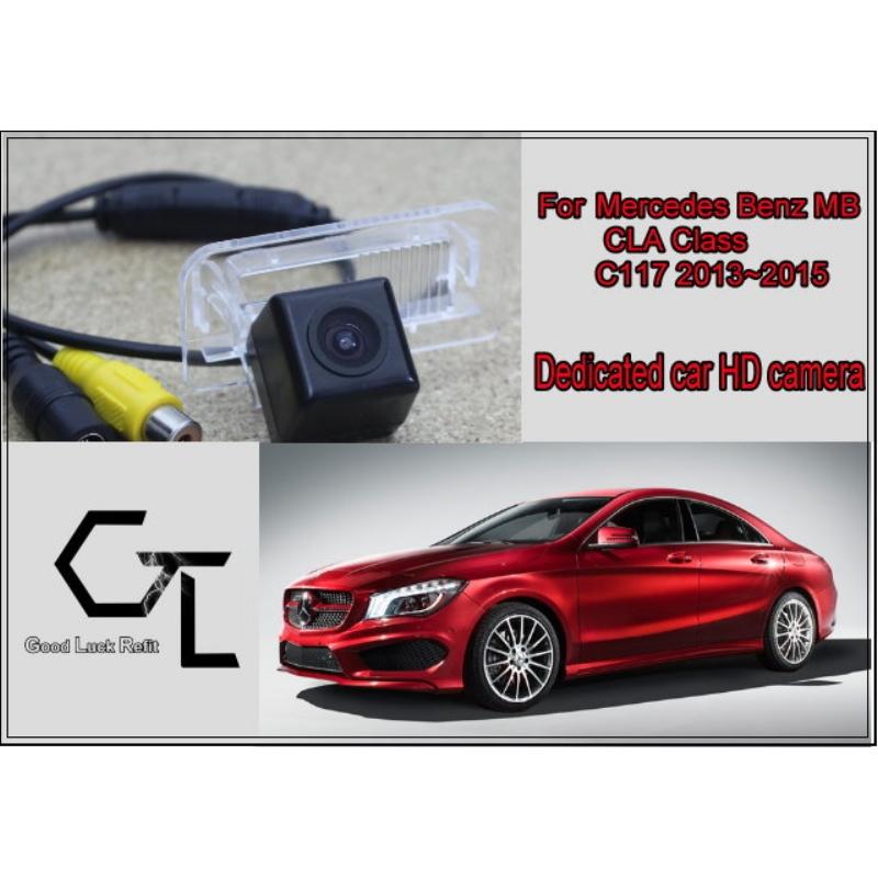 Car Camera For Mercedes Benz MB CLA Class C117 2013~2015 / HD CCD Back Up Camera / Modified Fans Preparing