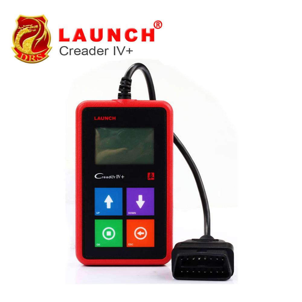Original Launch Universal Auto Code Scanner X431 Creader IV+ OBDII Car Reader Diagnostic Tool CReader IV Plus 4 - DRSOBD Store store