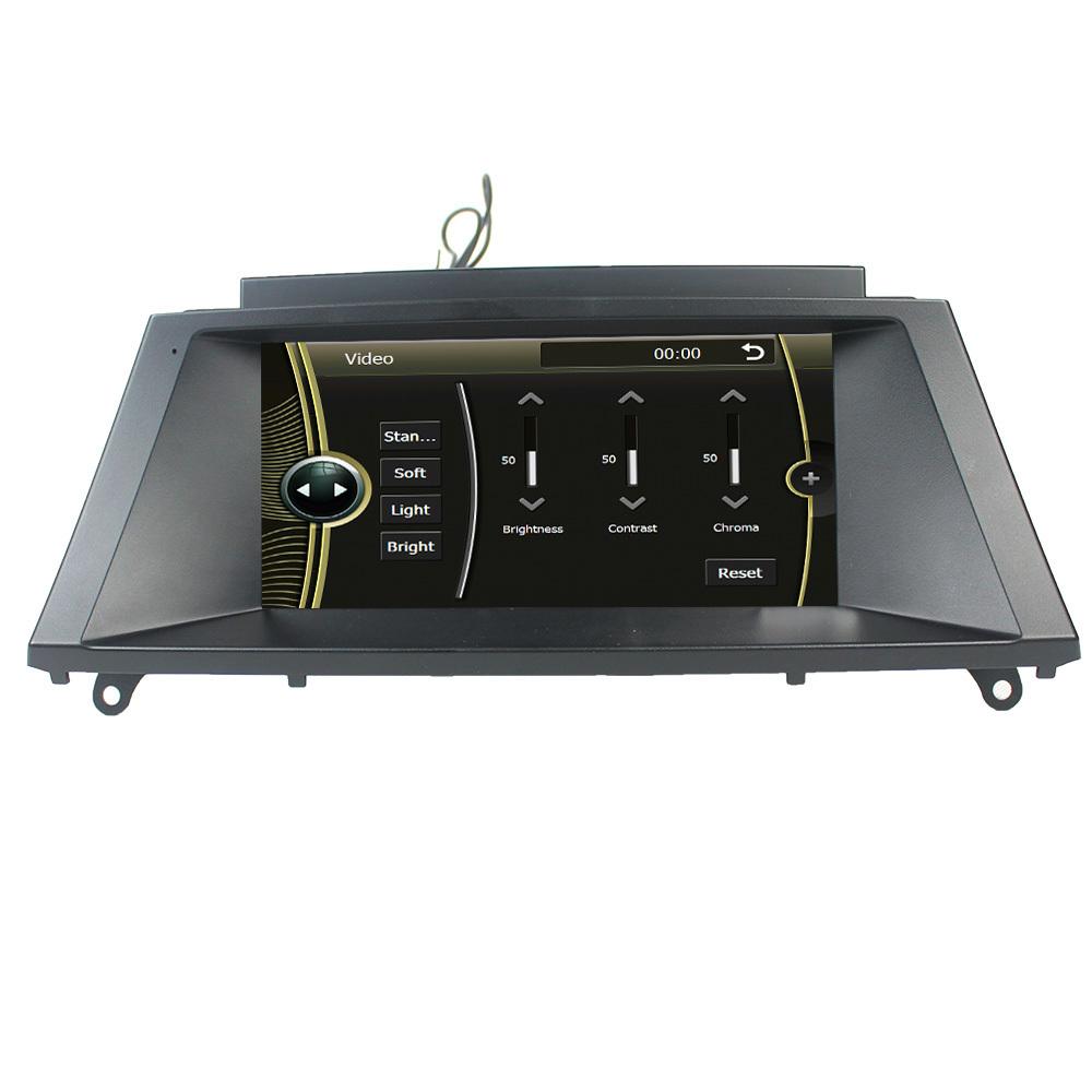 8inch Car DVD GPS FOR BMW X5 E70 X6 E71 E72 2007 2008 2009 2010 2011 2012 2013 2014 E70 Support original radio Steering wheel(China (Mainland))