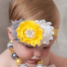 Buy TWDVS Newborn 3 Flower Elastic Hair Accessories Kids Pearl Flower hair band Ring Flower Headband H2 for $1.09 in AliExpress store