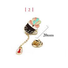 Cute decorativo piccola spilla sacchetto femminile cardigan selvaggio pin fibbia colletto della camicia pin accessori dei monili distintivo(China)