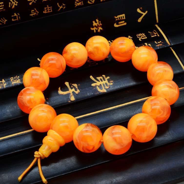Brand Buddha Bracelets Bangles Elastic Rope imitation Natural Stone Friendship Women & Men Jewelry Ambar Bracelet - Dcee jewelry factory Store store