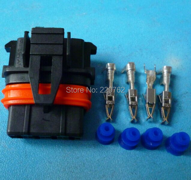 5Sets Auto airflow rate senser plug Car axle load/intake pressure plug for Bosch car Electrical connector,for BMW,Audi,VW etc.(China (Mainland))