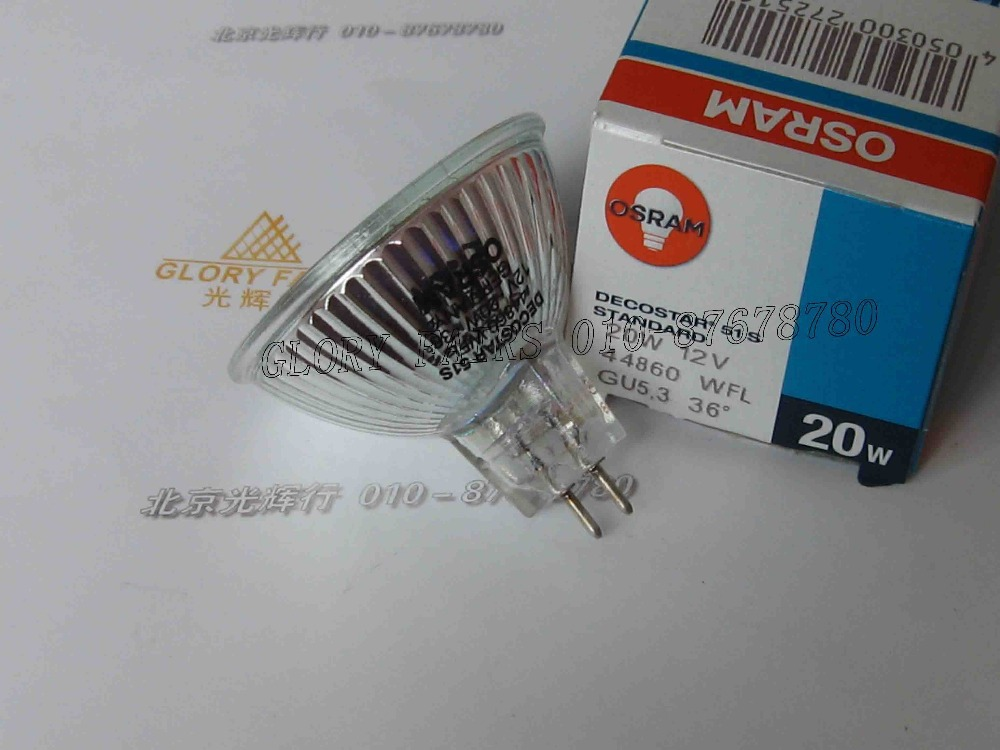 osram decostar 51s 44860 wfl 12v 20w germany bulb 36 degree 44860wfl 12v20w gu5 3. Black Bedroom Furniture Sets. Home Design Ideas