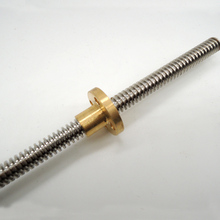 3D Printer THSL-300-8D Lead Screw Dia 8MM Pitch 2mm Lead 4mm Length 800mm with Copper Nut Free Shipping