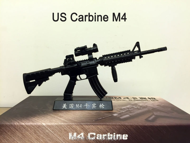 m4 carbine metal toy guns replicas submachine rifle gun model(China (Mainland))