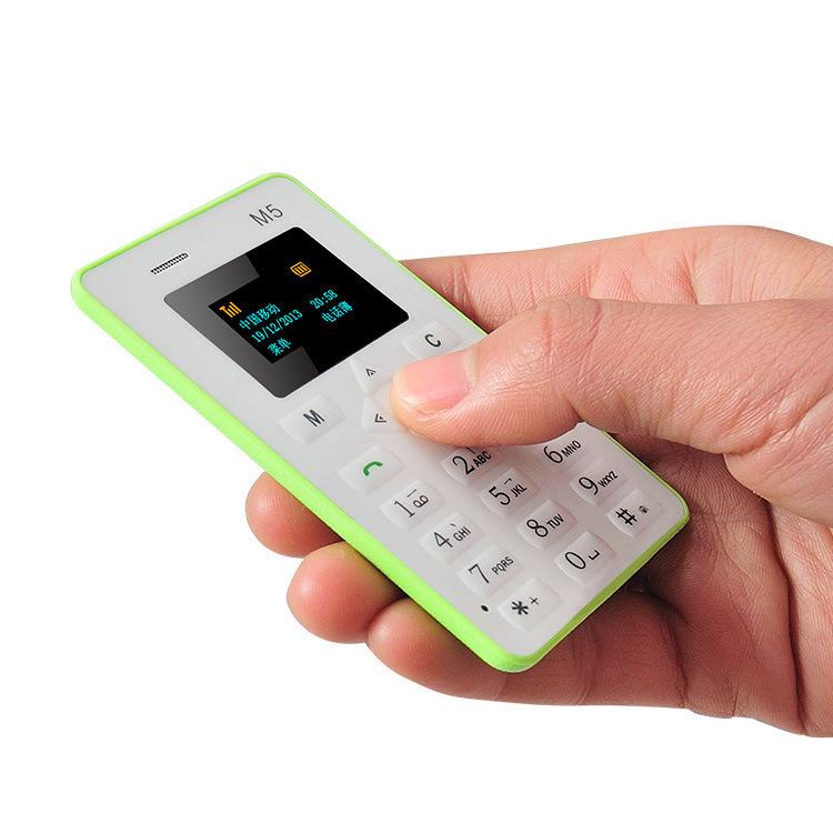 AEKU AIEK M5 V5 card mobile phone Ultra Thin mini pocket cheap nice dual thin card phone english/ russian/Arabic keyboard(China (Mainland))