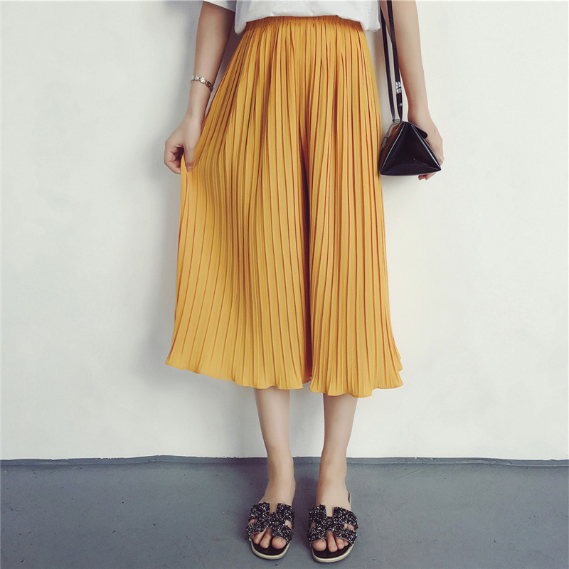 Perfect Pleated Pants