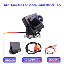 1/4″ 3.6mm 1080TVL CMOS Mini Camera For Home Security Micro CCTV Surveillance Camera FPV Quadcopter Drone Aerial Photo