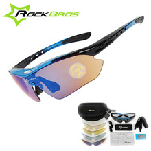 Buy Hot! New RockBros Polarized 5 Lens Cycling Sun Glasses Outdoor Sports Bicycle clismo Bike Sunglasses TR90 Eyewear Goggles for $15.54 in AliExpress store