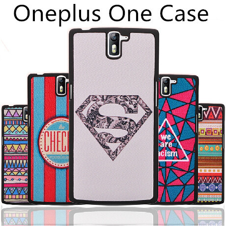 Oneplus one plastic case cover Best wave pc case cover for oneplus one case Hot sale oneplus one phone case cover shell +film(China (Mainland))