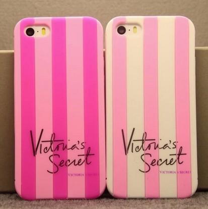 2015 victoria style luxe soft rubber stripe secret pink