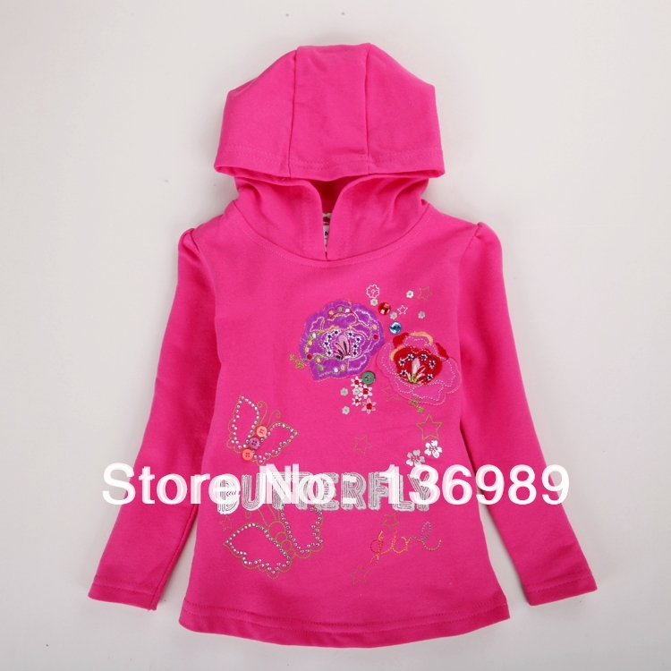 Neat new baby girl clothes long sleeve hoodie
