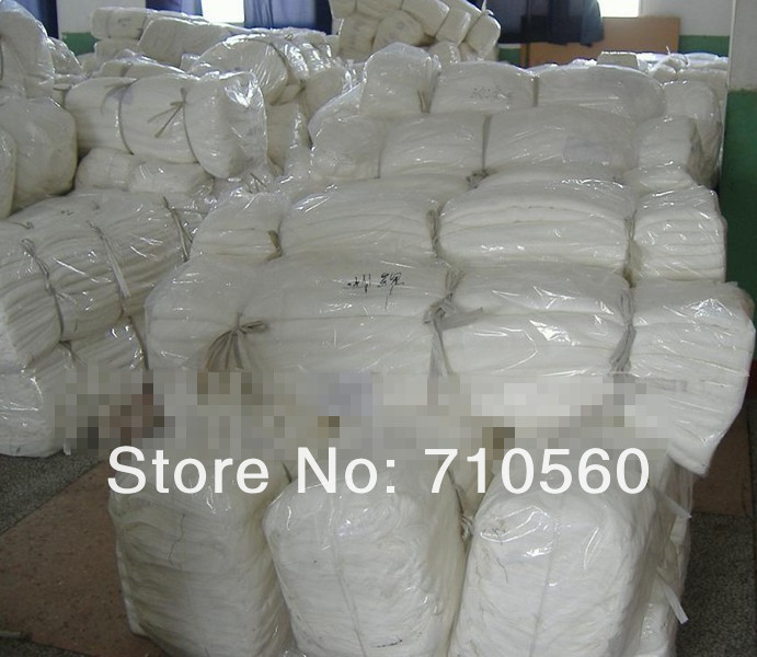 free shiping silk cotton mixture blend fabric 9m/m 30% silk 70% cotton 114cm width natural white for dyeing 10yards per bag(China (Mainland))