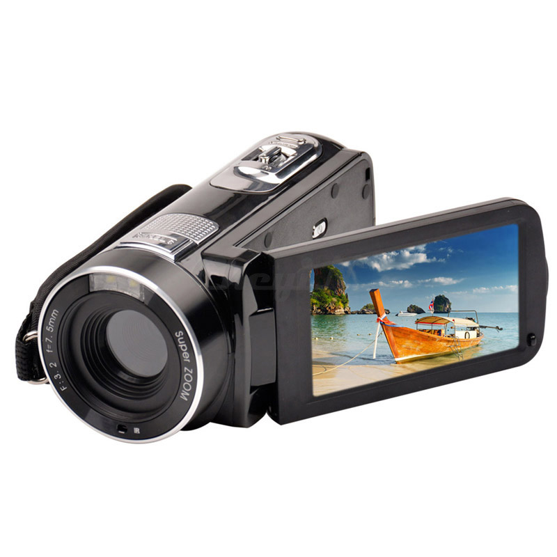 1080P Full HD 3 Inch Camera 20 Max MP Camcorder Camera Recorder Households Digital Camera Face detect DVR27H-S30<br><br>Aliexpress