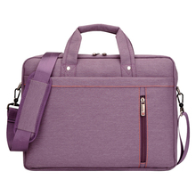 Buy 17 Inch FOR Nylon Computer Laptop Solid Notebook Tablet Bag Bags Case Messenger Shoulder unisex men women Durable Purple for $20.89 in AliExpress store
