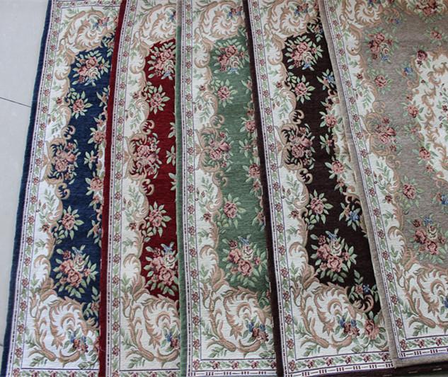 "VEZO HOME new wholesale anti-slip jacquard chenille floral vintage mats rug carpet living room door floor bathroom outdoor46*26""(China (Mainland))"