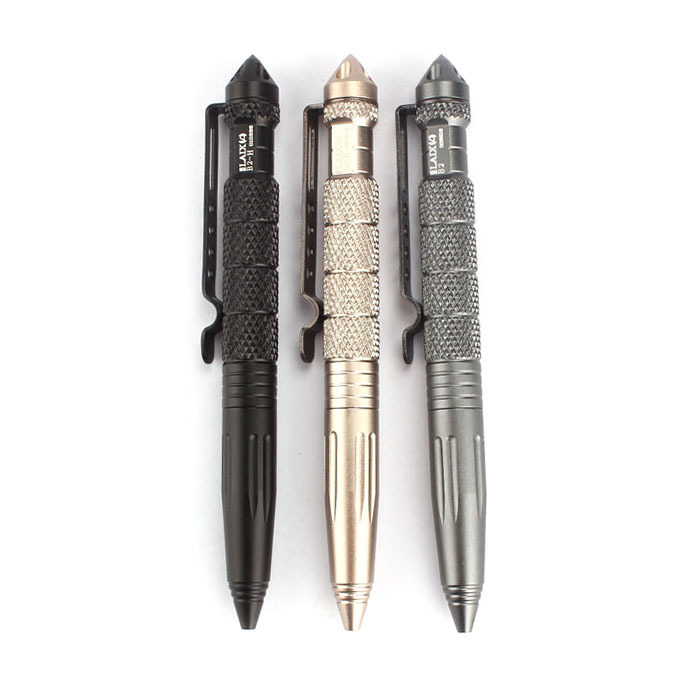 NEW Multipurpose Aluminum Tactical Pen Emergency G...
