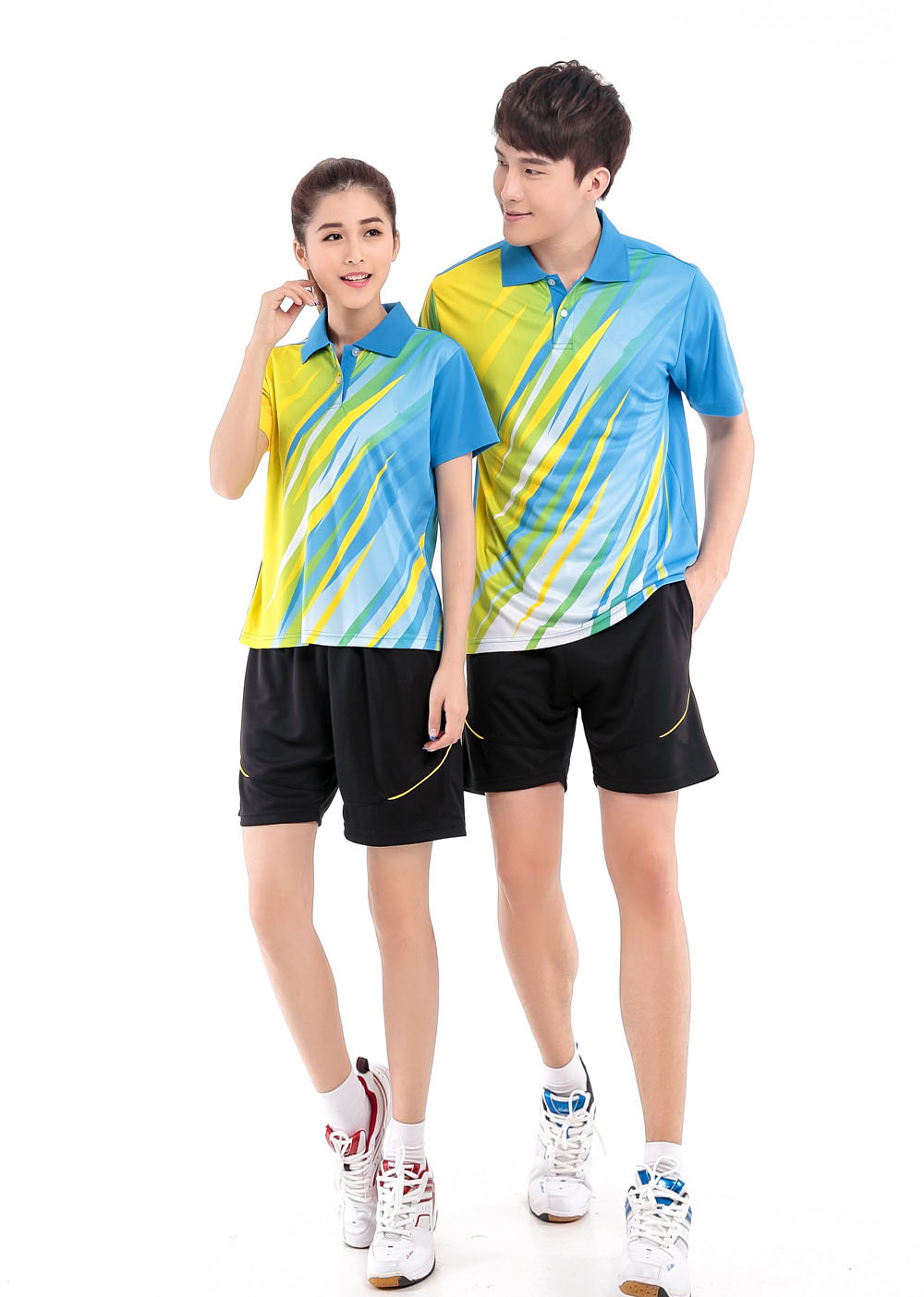Free Shipping 2016 Tennis clothes Coolmax Badminton Set Men/Women Clothes Table Tennis Uniforms Sports Pingpong Cloth set(China (Mainland))