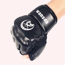 Adultos/Crianças Meia Dedos luvas de Boxe Luvas Sanda Karate Saco de Areia Taekwondo Protetor Para Boxeo MMA Soco