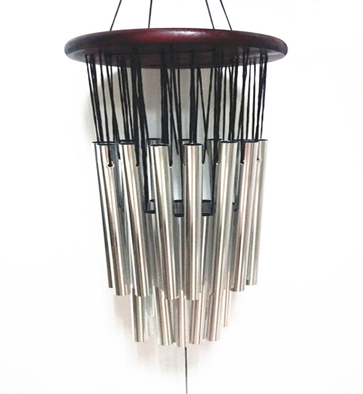 Redwood 27 pipe wind chimes  metal multi-tube antirust wind chimes birthday gifts to friends and best wishes  free shipping N662(China (Mainland))