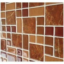 Fancy-fix Vinyl Peel and Stick Decorative Backsplash Kitchen Tile-pack of 10(China (Mainland))