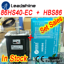 Buy Set sales Leadshine Hybrid Servo Motor 86HS40 86HBM40-1000 HBS86 HBS86H servo drive 80VDC 8.2A encoder cable for $292.04 in AliExpress store