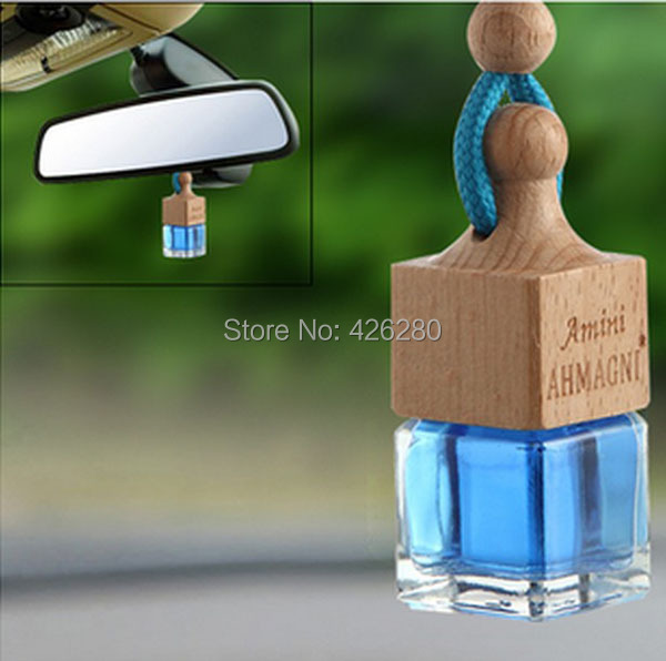 Improved 3PCS/lot Car Hanging Perfume Scent Air Fresher Romantic Crystal Plant Extracts Auto/Truck/Car Oil Hanging Fragrance(China (Mainland))