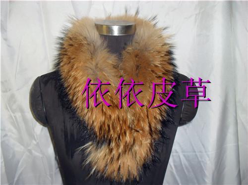 2011 raccoon fur scarf raccoon fur cap of fur scarf muffler scarf(China (Mainland))