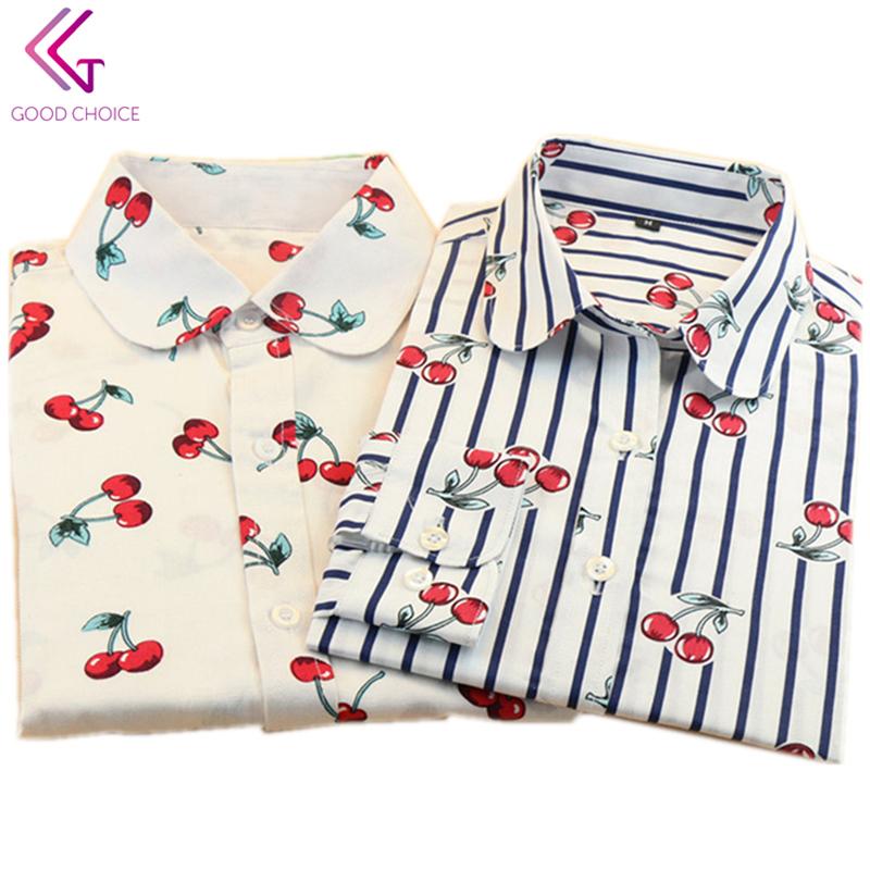 Блузка В Вишенку Купить