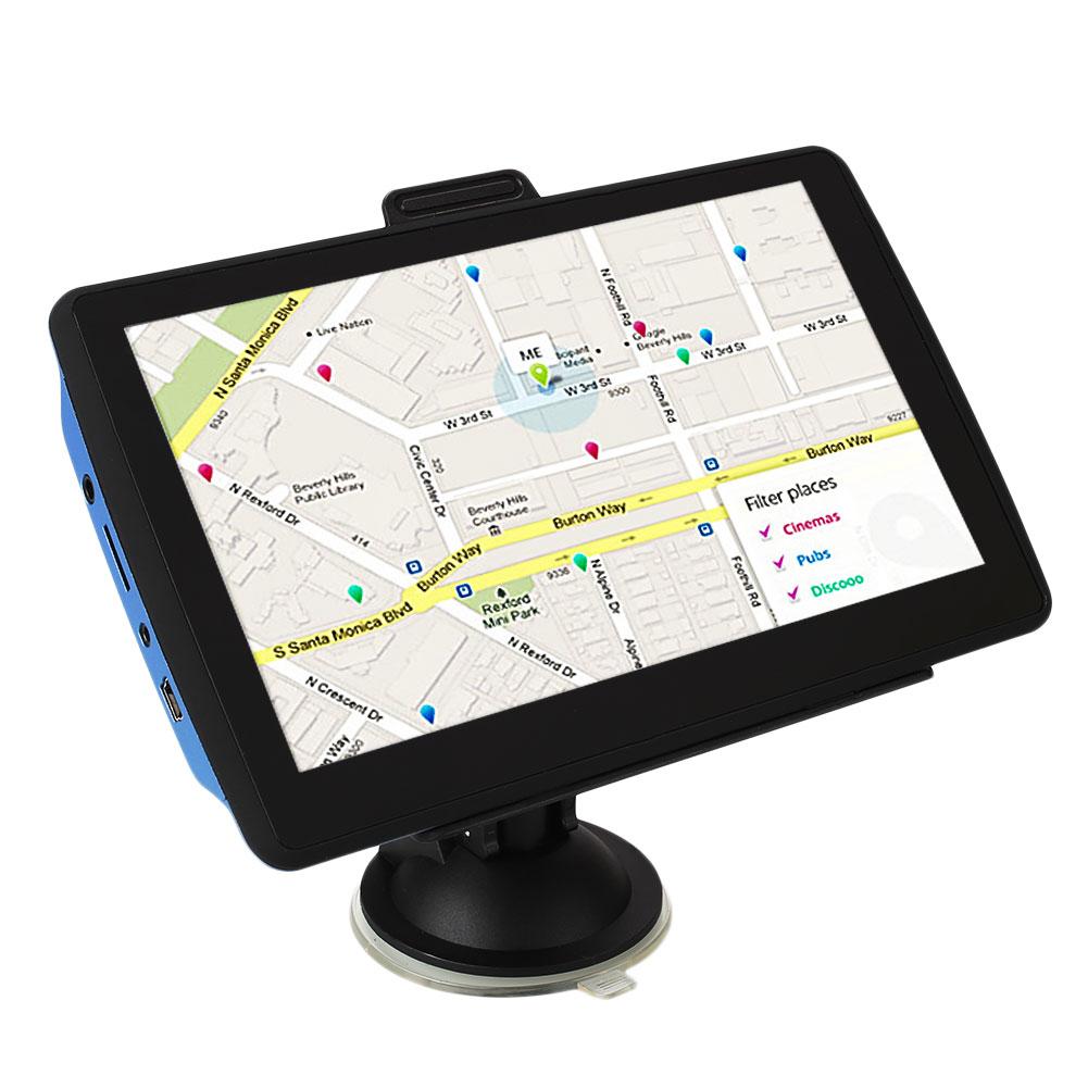 "7"" Car Vehicle GPS Bluetooth Navigation 4GB LCD Touchscreen Europe Map(China (Mainland))"