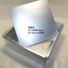 Stainless Steel Square cake mold bakeware baking mold cake tools18cm * 18cm * 7.5cm(China (Mainland))