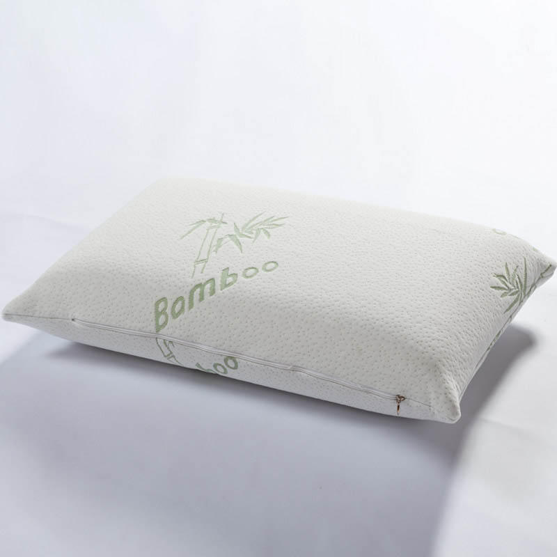 bamboo fiber memory foam pillow therapy neck pillow