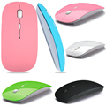 1600 DPI USB Optical Wireless Computer Mouse 2 4G Receiver Super Slim Mouse For PC Laptop