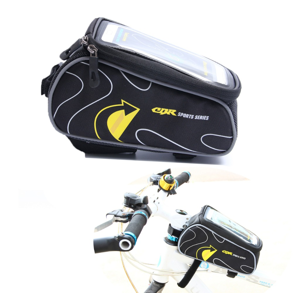 CBR New Road Folding Bike Bags Basket Sport Cycle Bicycle Bag Brand GPS Cycling MTB Bag Phone Case Bicycle Accessories(China (Mainland))
