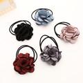 New South Korean Fashion three D Artificial flower double rubber band headdress hairband high quality hair