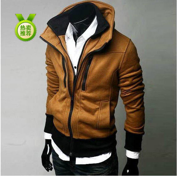 2013 selling high quality fashion on sale men's fleece winter fleece jacket(China (Mainland))