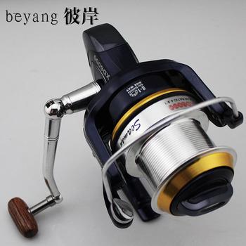 XD-6000 8+1 bearing Fishing Spinning Reel long shot round 4.9:1 free shipping