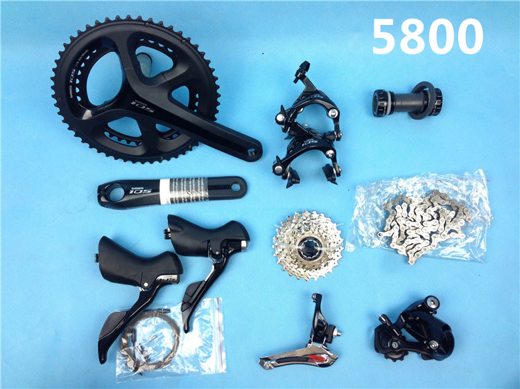 5800 groupset 105 road bicycle bike groupset 11s groupset Road cycling bike group bicycle derailleurs 105 derailleurs free ship(China (Mainland))