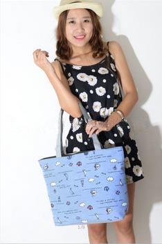 Large capacity handbags for women casual tote monther lady bag 2015 fashion holiday shoulder bag school stylish(China (Mainland))