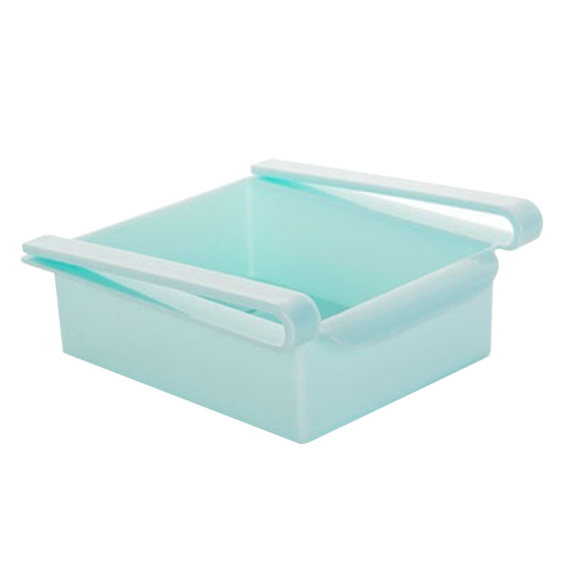 2016 New Blue High Quality Refrigerator portable Container Storage Holder Box kitchen tools(China (Mainland))