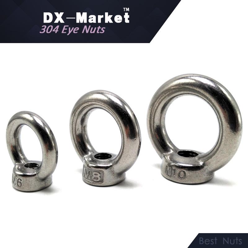 M36 , 304 Stainless Steel Metric Thread waterproof eye nut , high quality Lifting Eye Nut , A2-70 fasteners<br><br>Aliexpress