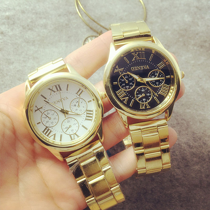 The new high-end fashion watches for men and women hand Rome steel watch quartz watch couple watch free shipping ladies watches<br><br>Aliexpress
