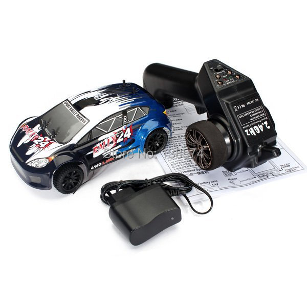X'max Gift HSP 1/24 Electric Powered Short Rally Racing Mini RC Car 94248 Romote Control Cars With 2.4Ghz Radio Control Toys(China (Mainland))