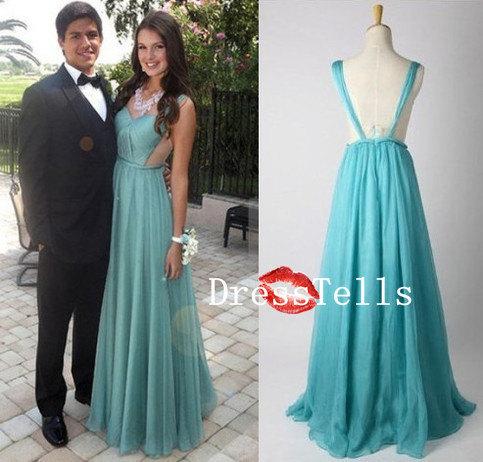 cheap vine chiffon prom dress