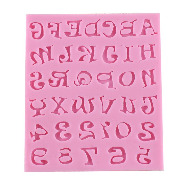 fondant letter molds